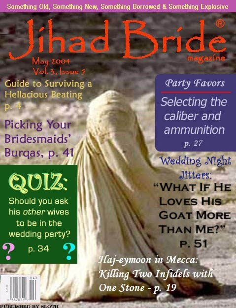 New Bridal Magazine - Jihad Bride